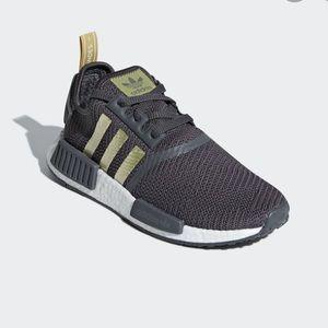 Adidas NMD grey and gold